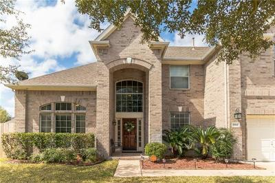 Round Rock Single Family Home For Sale: 1864 Paradise Ridge Dr