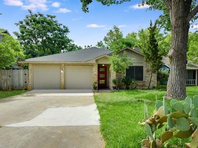 Travis County, Williamson County Single Family Home For Sale: 4207 Red Cloud Dr