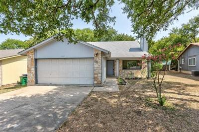 Austin Single Family Home For Sale: 3324 Clarksburg Dr