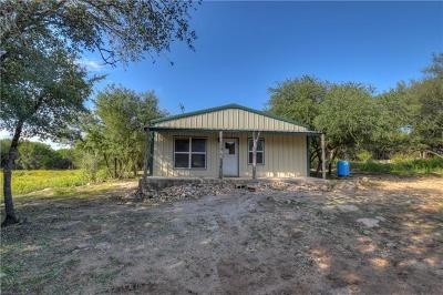 Marble Falls Single Family Home Pending - Taking Backups: 968 Creek Ln