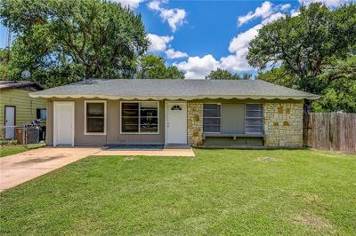 Austin Single Family Home For Sale: 6006 Hogan Ave