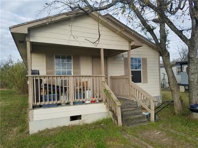 Manor Single Family Home For Sale: 107 Brenham St