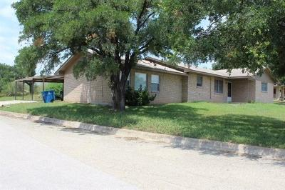 Marble Falls Single Family Home For Sale: 2503 Circle Dr
