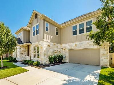 Cedar Park Single Family Home For Sale: 2100 Camino Alemeda