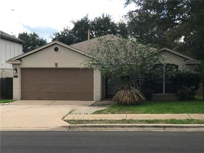 Cedar Park Single Family Home For Sale: 1202 Brashear Ln