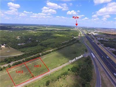 Kyle Residential Lots & Land For Sale: Post Rd #Lot 3