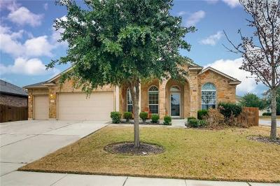 Round Rock Single Family Home For Sale: 2958 Todd Trl