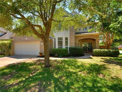Round Rock Single Family Home For Sale: 2701 Loyaga Dr