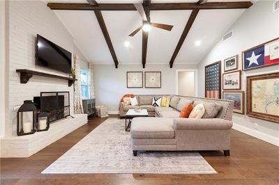 Travis County Single Family Home Pending - Taking Backups: 3204 Crosscreek Dr