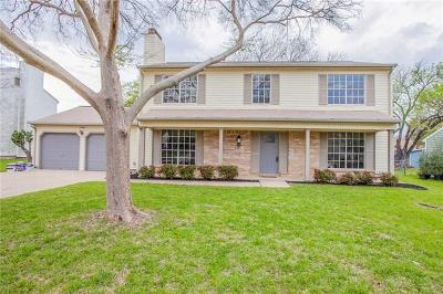 Round Rock Single Family Home For Sale: 1704 Lime Rock Dr