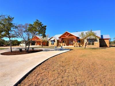 Burnet Single Family Home For Sale: 1020 County Road 119