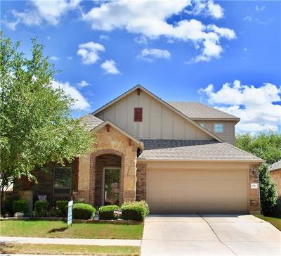 Georgetown Single Family Home For Sale: 4714 Madrid Dr