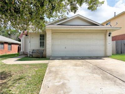 Leander Single Family Home For Sale: 2610 Turtle River Dr