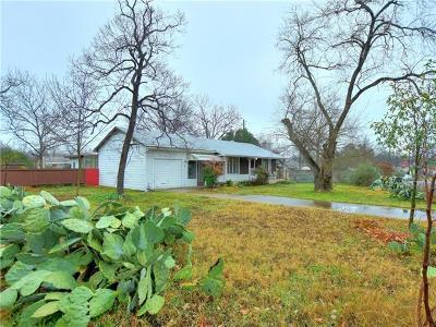 Travis County Single Family Home Pending - Taking Backups: 5711 Jeff Davis Ave