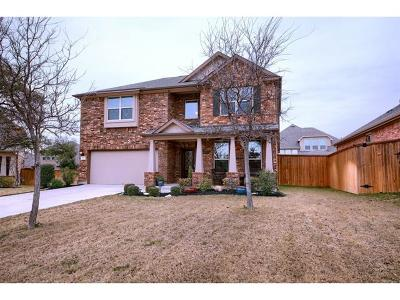 Round Rock Single Family Home Active Contingent: 4038 Geary