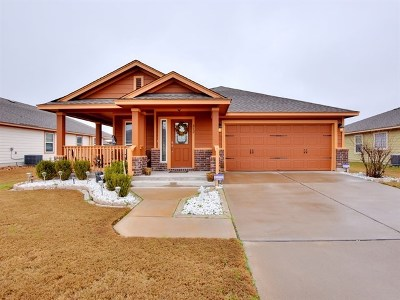 Pflugerville Single Family Home For Sale: 812 Noatak Trl
