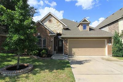 Cedar Park Single Family Home Pending - Taking Backups: 608 Williams Way