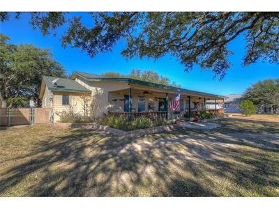 Spicewood Single Family Home For Sale: 24317 Haynie Flat Rd