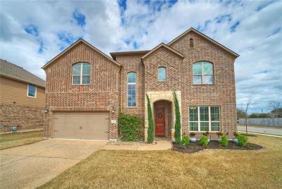 Round Rock Single Family Home For Sale: 100 White Fox Cv