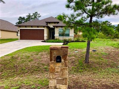 Bastrop TX Single Family Home For Sale: $299,900