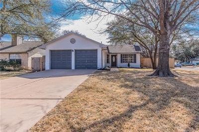 Cedar Park Single Family Home Pending - Taking Backups: 1710 Yucca Ln