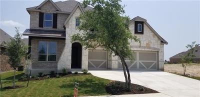 Leander Single Family Home For Sale: 900 Richardson Ln