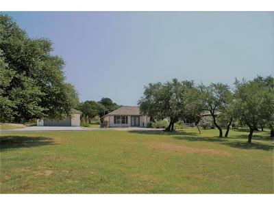 Dripping Springs Single Family Home For Sale: 500 Madrone Ranch Trl