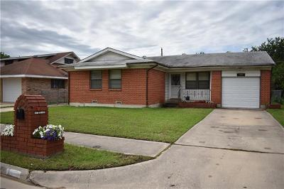 Killeen TX Single Family Home For Sale: $99,000