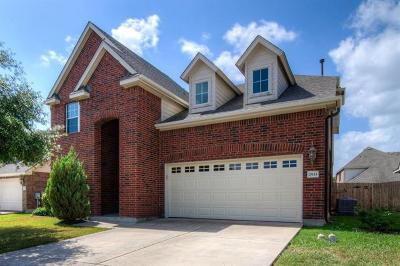Pflugerville Single Family Home Pending - Taking Backups: 2933 Inks Lake Dr