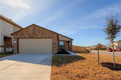 Manor Single Family Home For Sale: 12801 Fireside Chat