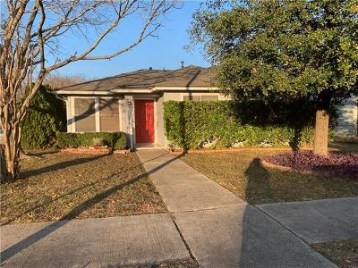 Pflugerville Single Family Home Pending - Taking Backups: 100 Wild Senna Dr