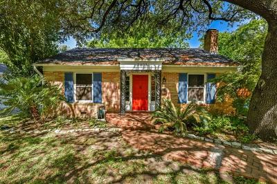 Austin Single Family Home For Sale: 3808 Avenue F