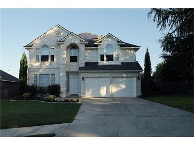 Pflugerville Single Family Home For Sale: 2202 Pawtucket Ct