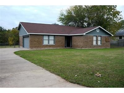 Cedar Park Single Family Home For Sale: 1502 Cedar Park Dr