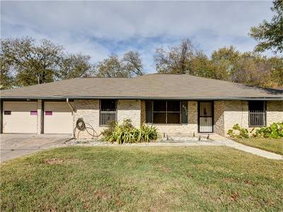 Austin Single Family Home For Sale: 5502 Tipton Dr