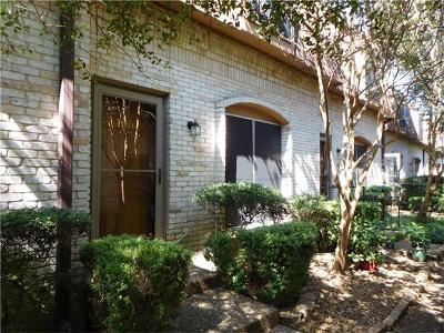 Condo/Townhouse For Sale: 7801 Shoal Creek Blvd #106