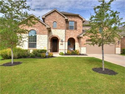 Round Rock Single Family Home For Sale: 2726 San Milan Pass
