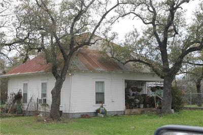 Burnet County Single Family Home For Sale: 318 Mesquite St