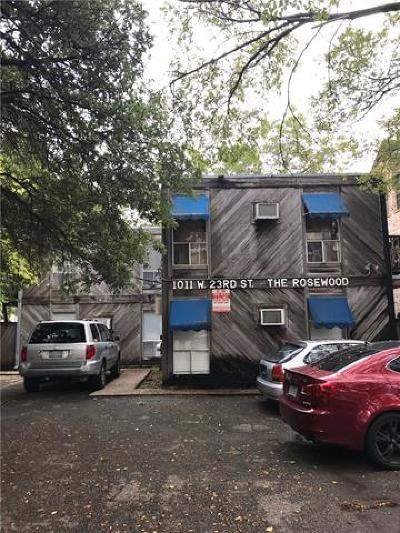Condo/Townhouse Pending - Taking Backups: 1011 W 23rd St #103