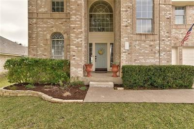 Round Rock Single Family Home Pending - Taking Backups: 1721 Lantana Dr