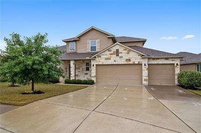 Round Rock Single Family Home For Sale: 106 Lee Trevino Cv