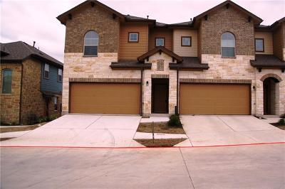 Round Rock Condo/Townhouse For Sale: 1001 Zodiac Ln #15