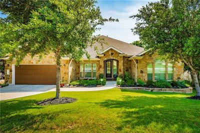 Cedar Park Single Family Home For Sale: 1900 Valle Verde Dr