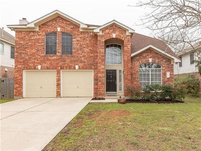 Cedar Park Single Family Home Pending - Taking Backups: 1402 Old Mill Rd