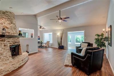 Round Rock Single Family Home For Sale: 601 Deep Wood Dr