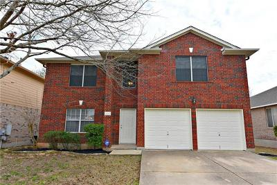 Round Rock Single Family Home For Sale: 4039 Cargill Dr