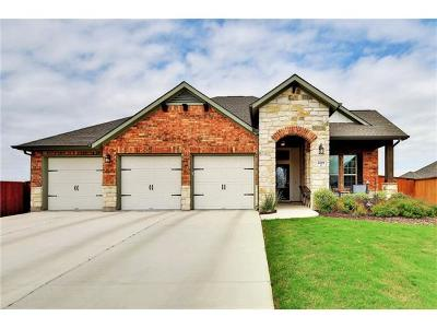Leander Single Family Home For Sale: 2229 Angelica Ct