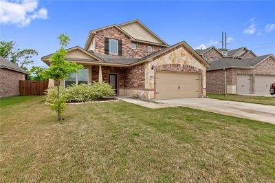Round Rock Single Family Home For Sale: 5672 Sabbia Dr