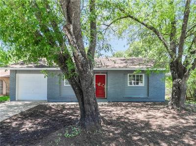Austin Single Family Home For Sale: 5706 Hammermill Run