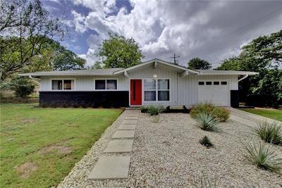 Austin Single Family Home Pending - Taking Backups: 7007 Burnell Dr